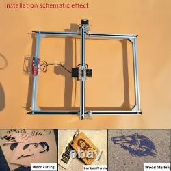 500mW Desktop Laser Engraving Machine DIY Logo Marking Printer Engraver