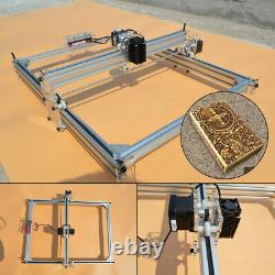 500mW Desktop Laser Engraving Machine DIY Logo Marking Printer Engraver 40x50cm