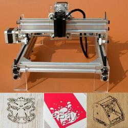 500mW Desktop Laser Engraving Machine Logo Marking Printer Engraver Cutting