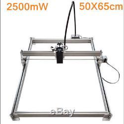 5065cm 2500MW DIY Desktop Laser Engraving Machine Cutter Printer Engraver USA