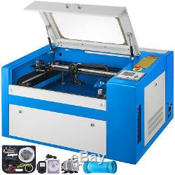 50W 2012 CO2 Laser Engraver Cutter Engraving Machine With Auxiliary Rotary 110V