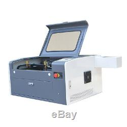 50W 500x300mm Desktop Co2 Laser Engraving Machine Laser Engraver USB
