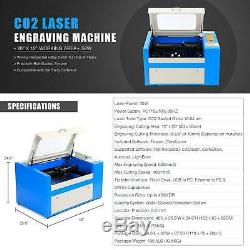 50W CO2 Laser Engraving Cutting Machine Engraver Cutter Trocen DSP 300 x 500mm
