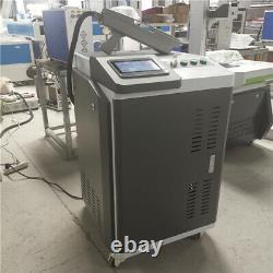 50W fiber laser cleaning Machine Metal Rust Oxide Painting Graffiti Duck Remover