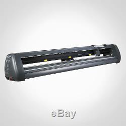 53 1350mm Vinyl Sign Sticker Cutter Plotter With Contour Cut Function Machine