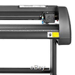 5in1 Heat Press 12x15 Vinyl Cutter Plotter 34 Digital Printer Sticker Print