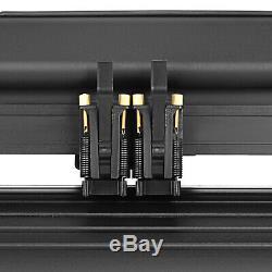 5in1 Heat Press 15x15 Vinyl Cutter Plotter 14 Pattern Swing Away Usb Port