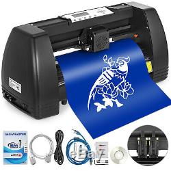 5in1 Heat Press 15x15 Vinyl Cutter Plotter 14 Pattern Swing Away Usb Port