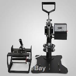 5in1 Heat Press Transfer Vinyl Cutting Plotter T-shirt Machine Cutter Printer