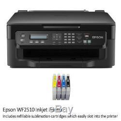 5in1 Transferpresse Hitzepresse Tassenpresse Plotter Schneideplotter mit Drucker