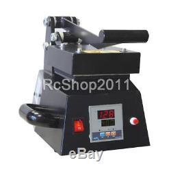 5x5 HFS Digital Heat Press Machine Rosin Press Single Heater US Local ship