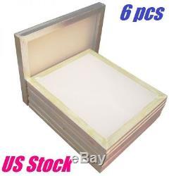 6 PACK Aluminum Frame Silk Screen Printing Screens 18 x 20 160 Mesh Count