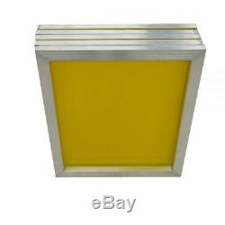 6 PACK Aluminum Frame Silk Screen Printing Screens 20 x 24, 200 Mesh Count