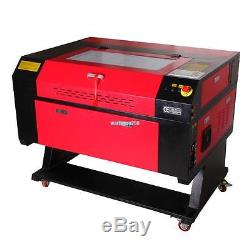 60W CO2 USB Port Laser Engraving Cutter Machine Engraver 700x500mm with Water Pump