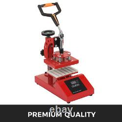 6Pcs Digital LoGo Pen Heat Press Machine 300W 110V Hot stamping 3D Sublimation