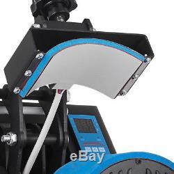 7 x 3.75 Cap Hat Heat Press Transfer Sublimation Machine Steel Frame