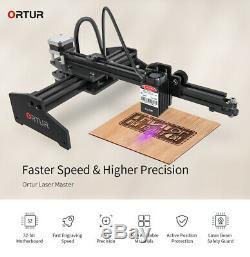7000mW Desktop Laser Engraving Machine Logo Marking Engraver Printer Cutter CNC