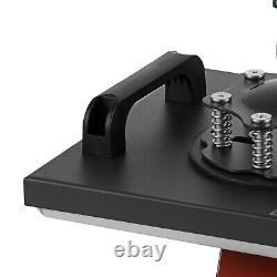 8 in 1 Heat Press Machine Swing Away Digital Sublimation T-Shirt /Mug/Plate Hat