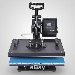 8 in 1 Heat Press Transfer T-Shirt Mug Hat Sublimation Printer Printing Machine