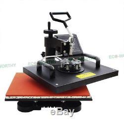 8 in 1 Multi-function Heat Press Machine Transfer DIY Printing T-Shirt Mug Hat