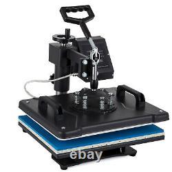 8 in 1 T-Shirt Heat Press Printing Machine 12X15 Digital Transfer Mug Hat Plate