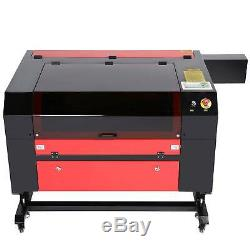 80W CO2 28 x 20 Laser Engraver Cutter With LightBurn For Windows Mac OSX Linux