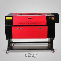 80W Co2 Laser Cutter 700x500mm Engraver Cutting Machine Crafts USB Port With Stand