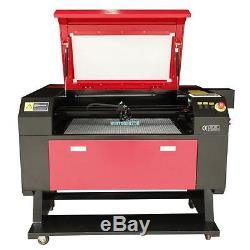 80w CO2 USB Laser Engraving Cutting Machine Engraver Cutter Woodworking Craft