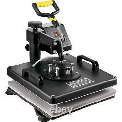 8IN1 Combo T-Shirt Heat Press Transfer 15x15in 1100W Swing Away Sublimation