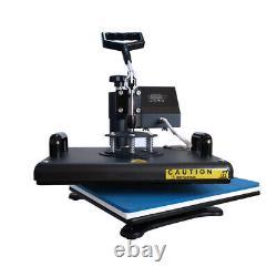 8in1 Digital Transfer Heat Press Machine T-Shirt Mug Hat Sublimation Combo Kits