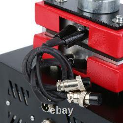 900W 110V Hand Rosin Press Machine Crank Duel Heated Plates Heat Transfer