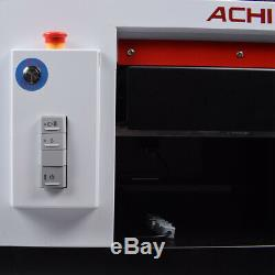ACHI A3 UV Printer &1390 Printed Head & Rotary Holder Cylindrical 3D Embossed US
