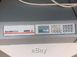 AGFA AccuSet 1000 Image Setter