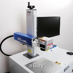 AOK LASER Deluxe 50w Fiber Laser Marking Machine Laser engraver raycus laser