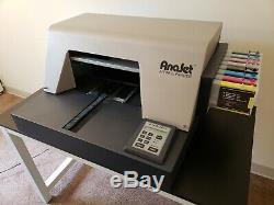 Anajet FP-125 Refurbished DTG Direct To Garment Apparel Textile T Shirt Printer