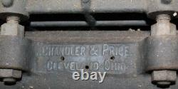 Antique CHANDLER & PRICE PRESS Press From Local Museum Printing Shop