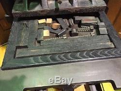 Antique Washington Hand Letterpress Printing Press Book Binders