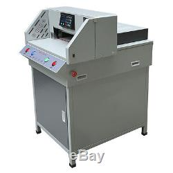 Automatic Programable 19.3 Electric Stack Paper Cutter 490mm Cutting Machine