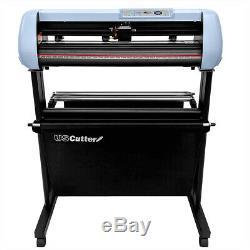 BUNDLE 34 SC2 Vinyl Cutter Plotter withCatch Basket + Tools, Supplies USCutter