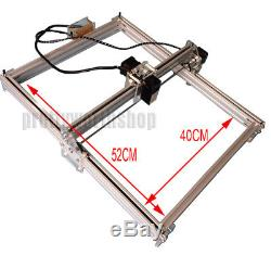 Bachin 4050CM 2500MW 2.5W Laser Cutting/Engraving Machine DIY Picture Marking