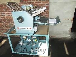 Baum Folder Air Feed Folder 14 X 20 Very Clean