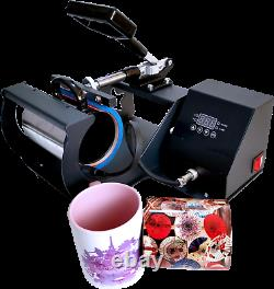 BetterSub 4in1 Mug Heat Press Machine Sublimation Transfer for Cup 10/11/12/17oz