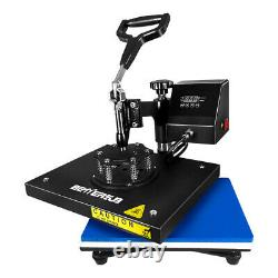 BetterSub SWING AWAY Digital Heat Press Machine Sublimation Transfer DIY T-Shirt