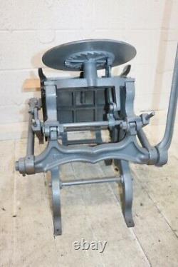 C & P Chandler & Price 6 1/2 X 10 Pilot Hand Printing Press Antique Letterpress