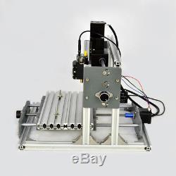 CNC 2417 Mini DIY Mill Router Kit USB Desktop Metal Engraver PCB Milling Machine