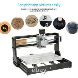 CNC 3018 PRO Machine Router 3 Axis Engraving 2500mw Laser PCB Wood DIY Mill