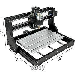 CNC 3018 Pro 3 Axis 15W GRBL Control Laser Engraver Machine + 15000mw Laser Head