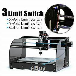 CNC 3018pro-M DIY Mini CNC Machine, Wood Router Laser Engraving Milling Machine