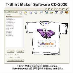 Canon Mega Tank Refillable Ink Printer T-shirt Maker Complete Starter Pack