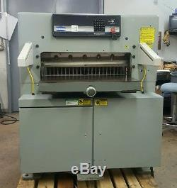 Challenge 305 MPX 30.5 Paper Cutter VICKERS VALVES PROGRAMMABLE